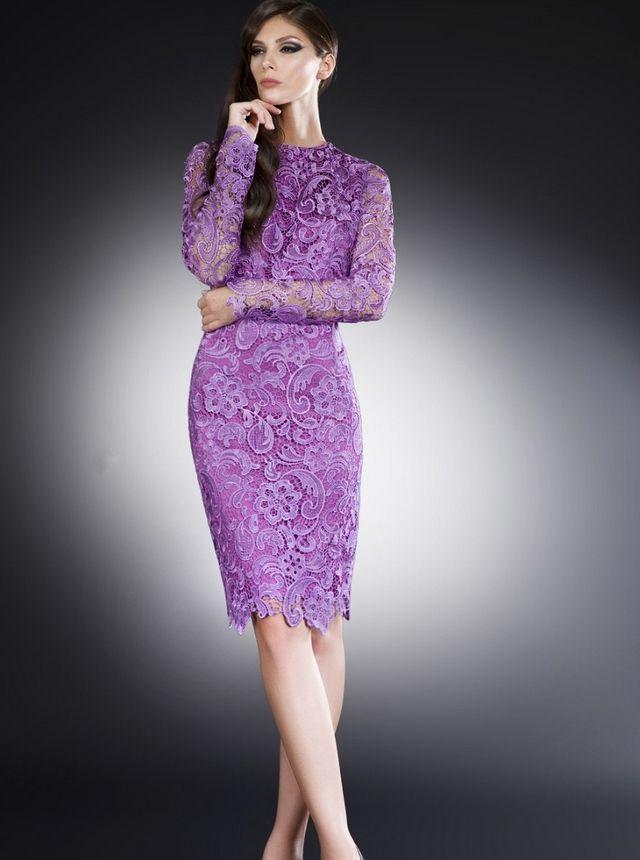 Resultado de imagen para vestidos coctel de encaje | vestidos ...