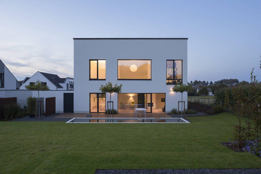 6 nachahmenswerte Häuser mit Flachdach | Haus, Open plan living and ...