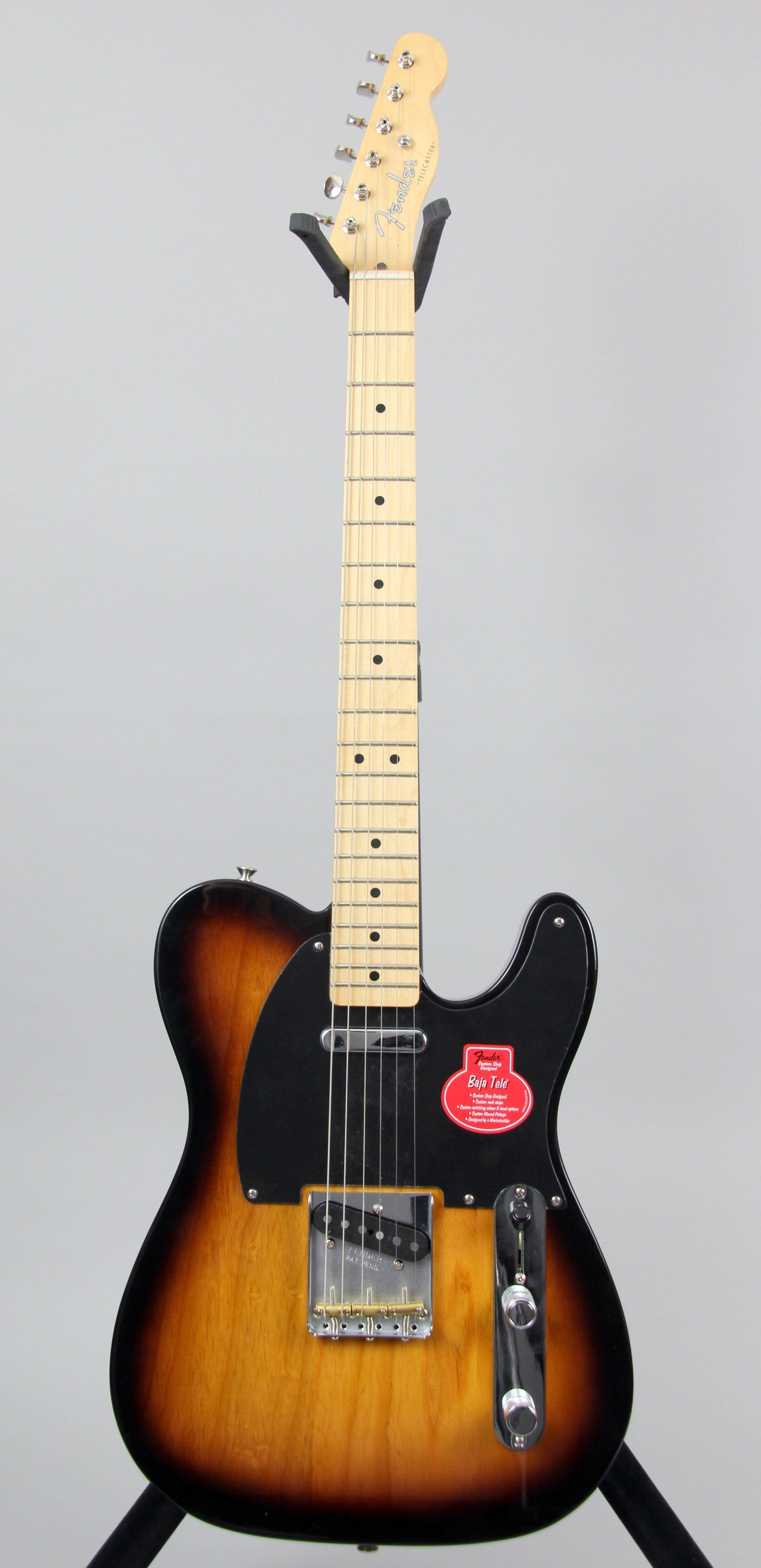 Fender Classic Player Baja Telecaster - 2 Color Sunburst | Guitars ...