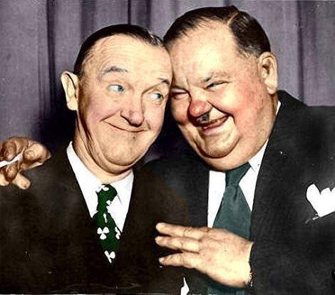 Stan Laurel & Oliver Hardy, Stummfilm #hollywoodlegends