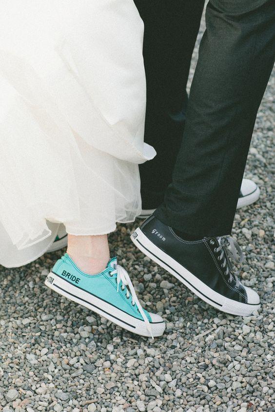 9a27b05d8 5 motivos para usar o tênis All Star no seu casamento | moda | Sapatos de  casamento, Casamento tumblr, Noivos tumblr