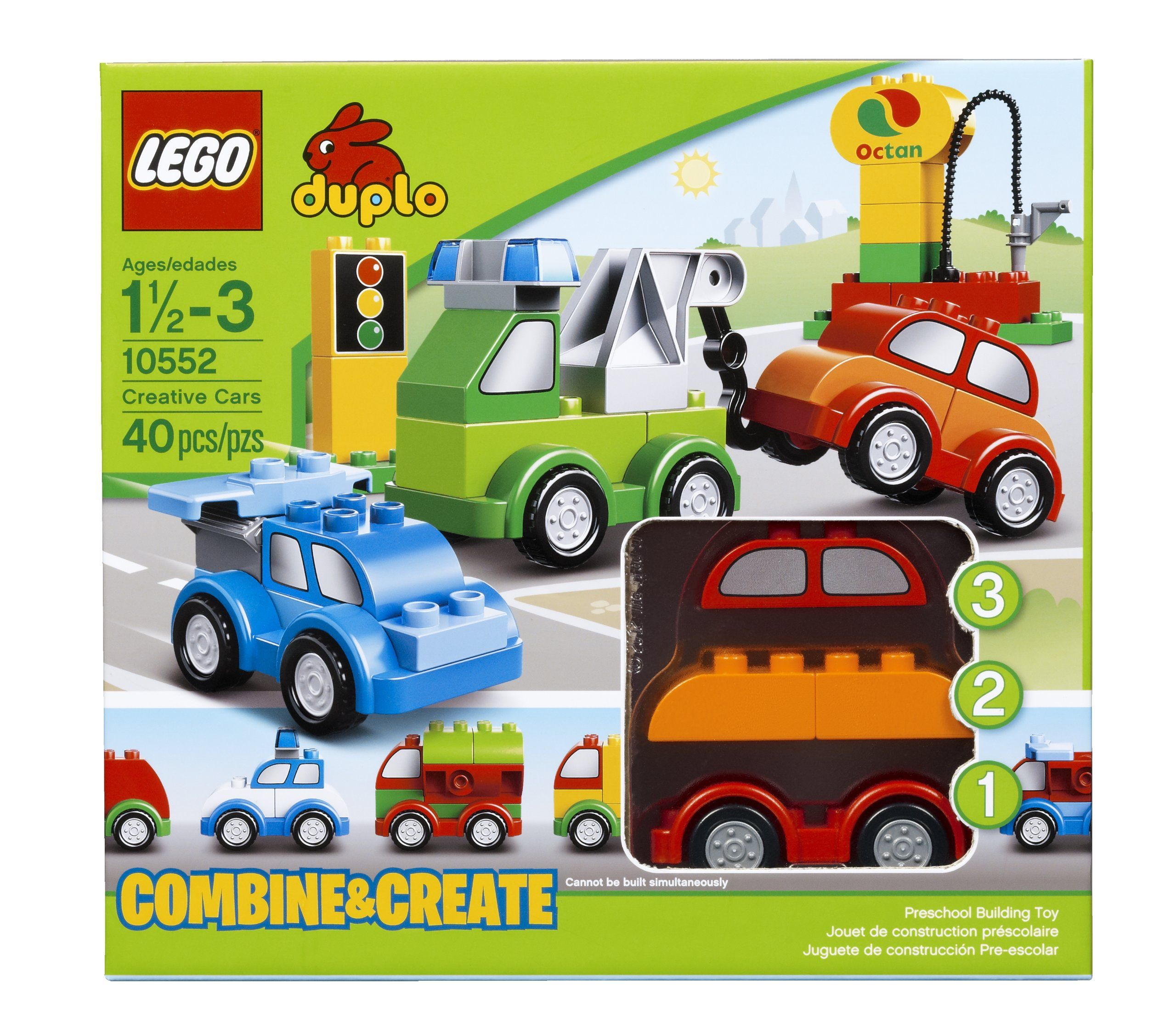 Amazoncom Lego Duplo My First 10552 Creative Cars Building Set