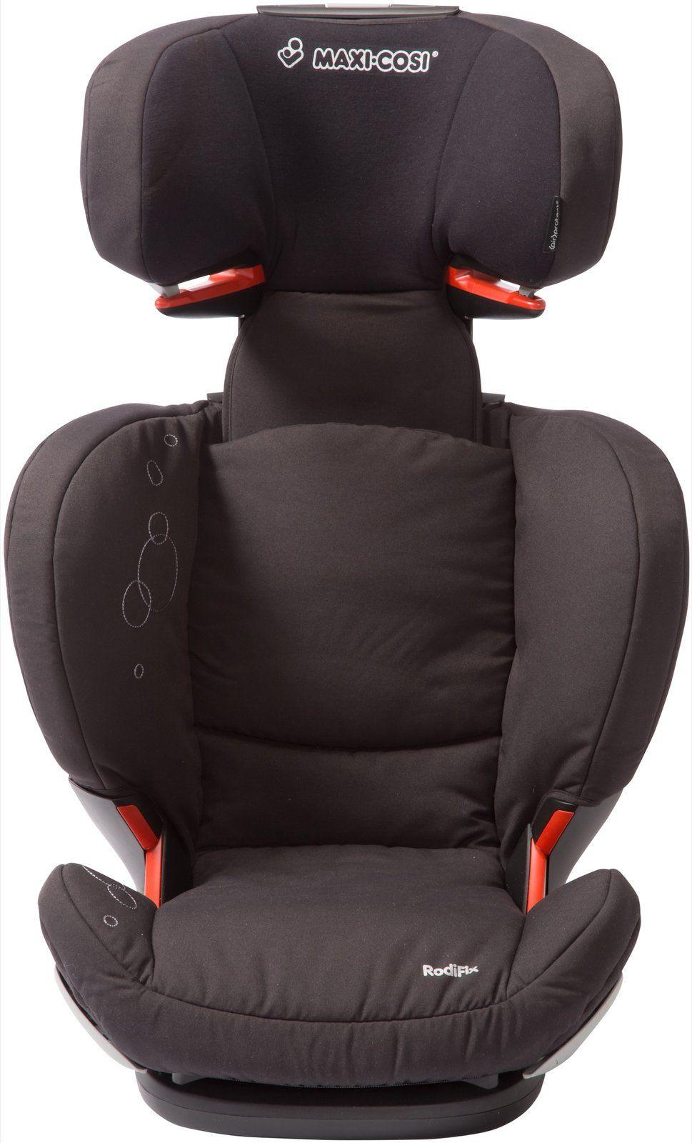 maxi cosi rodifix booster car seat total black free. Black Bedroom Furniture Sets. Home Design Ideas