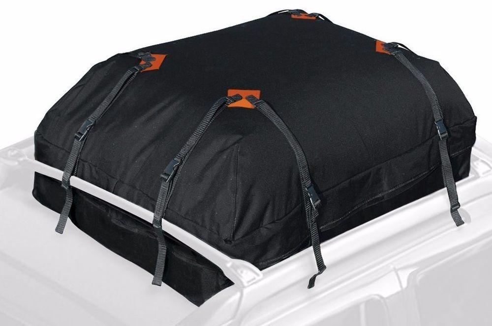Car Truck Waterproof Roof Top Rack Cargo Storage Travel