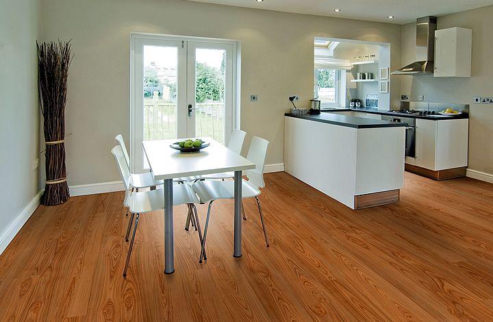 Chalk oak vinyl comfort hardwood look a like for the home
