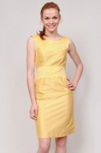 Robe classique en soie