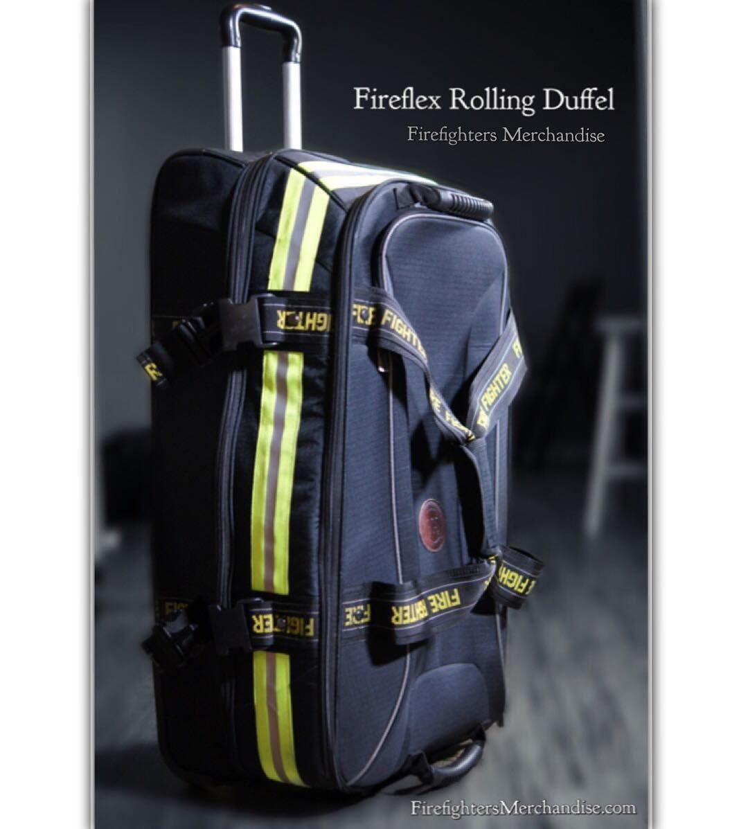 02e21a5cc013 Fireflex Rolling Duffel Bag - COMING SOON! (Click link in bio)  FFM   firefightersmerchandise  GCS