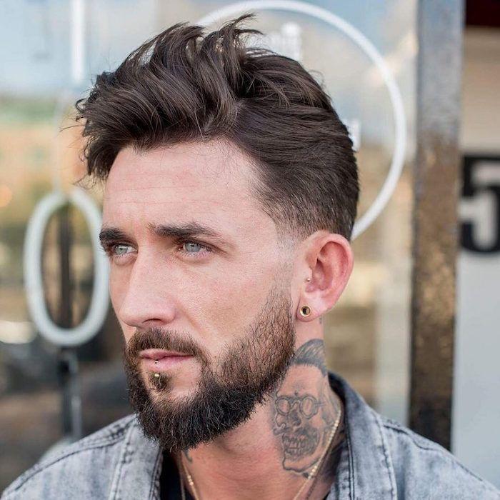 bien tailler sa barbe longue exemple comment tailler sa barbe longue en dgrad et coupe de. Black Bedroom Furniture Sets. Home Design Ideas