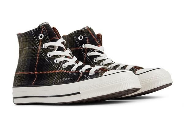 5e261d95ac5d Converse Chuck Taylor All Star 70 Hi - Medium Olive Campfire Orange ...