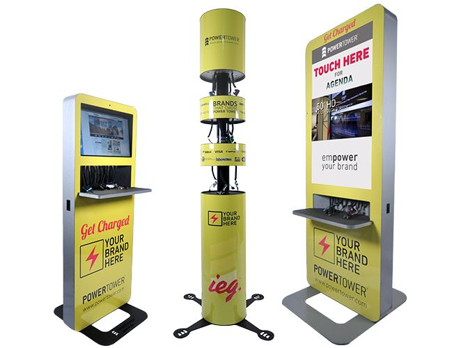 Power tower cell phone charging station case studies Cell phone charging station