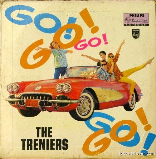 The Treniers Go Go Go Go Cool Album Covers