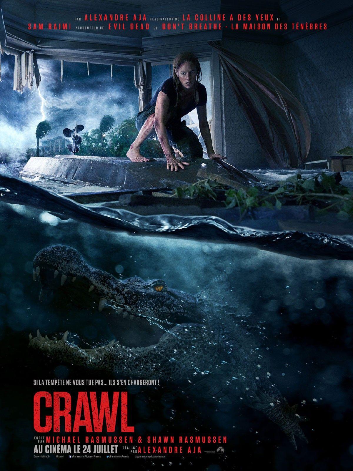 Crawl 2019 Alexandre Aja Horror Horrormovie Horrorposter Crocodile Alligator Monstermovie Peliculas De Terror Películas Completas Peliculas
