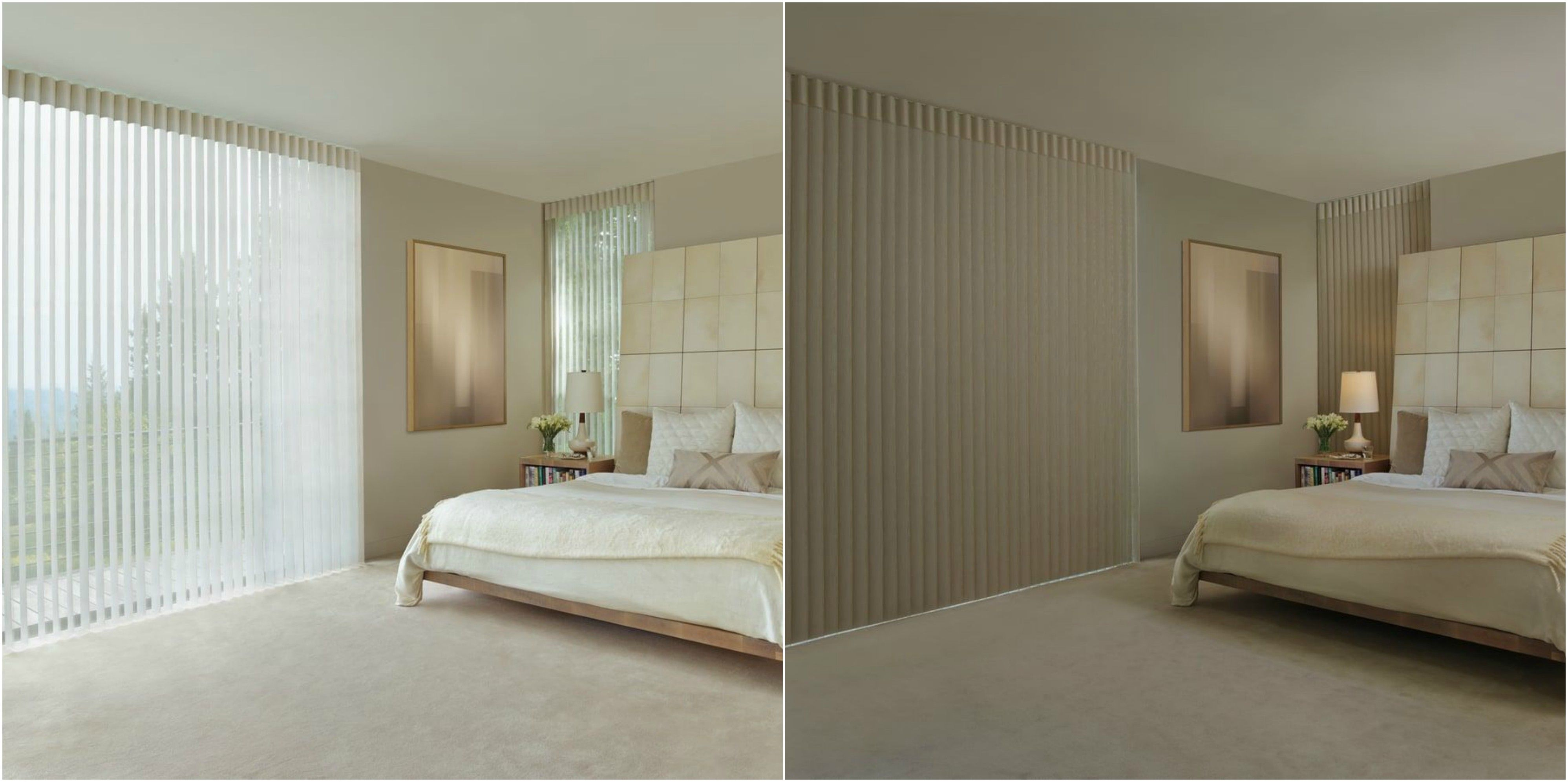 Hunter Douglas Luminette Privacy Sheers From Light Filtering To