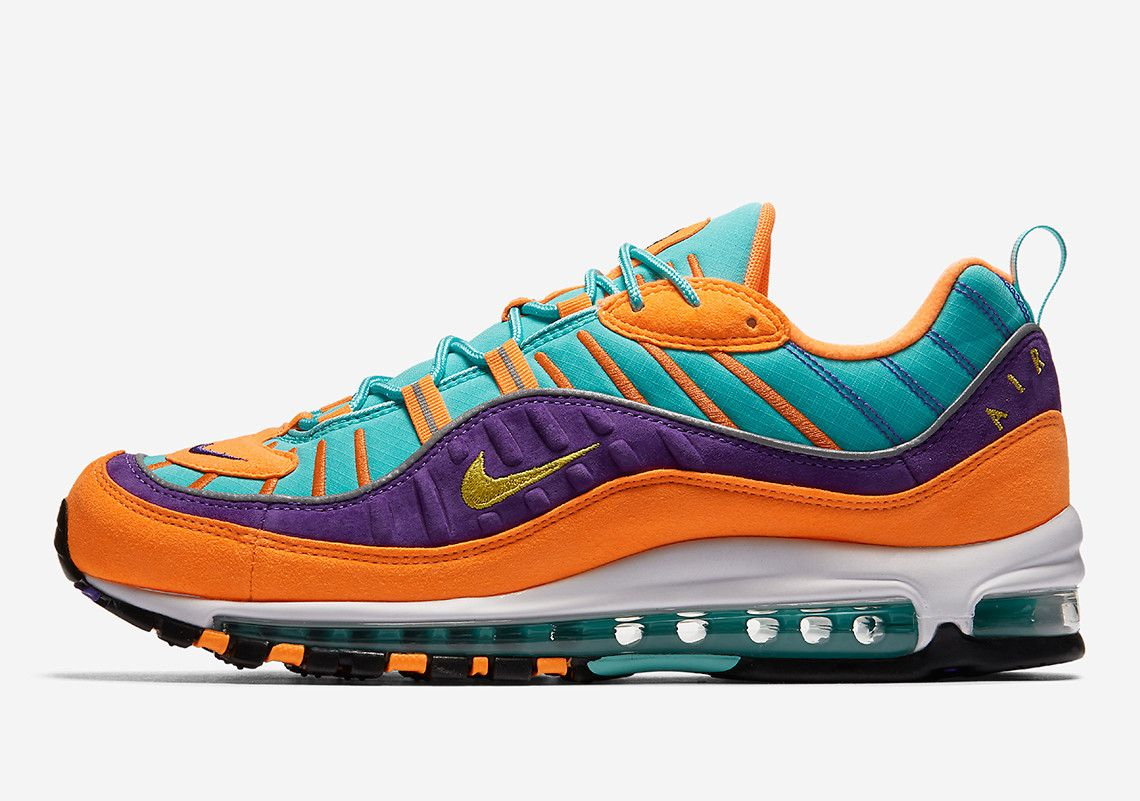 low priced 5aaee 79ec0 This Colorful Nike Air Max 98 Is Releasing Next Week In Europe And Asia