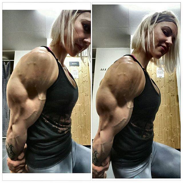 Heidi Vuorela New Video Huge Photo Gallery Femalemuscle Female Bodybuilding And Talklive By Bodybuilder Lori Braun