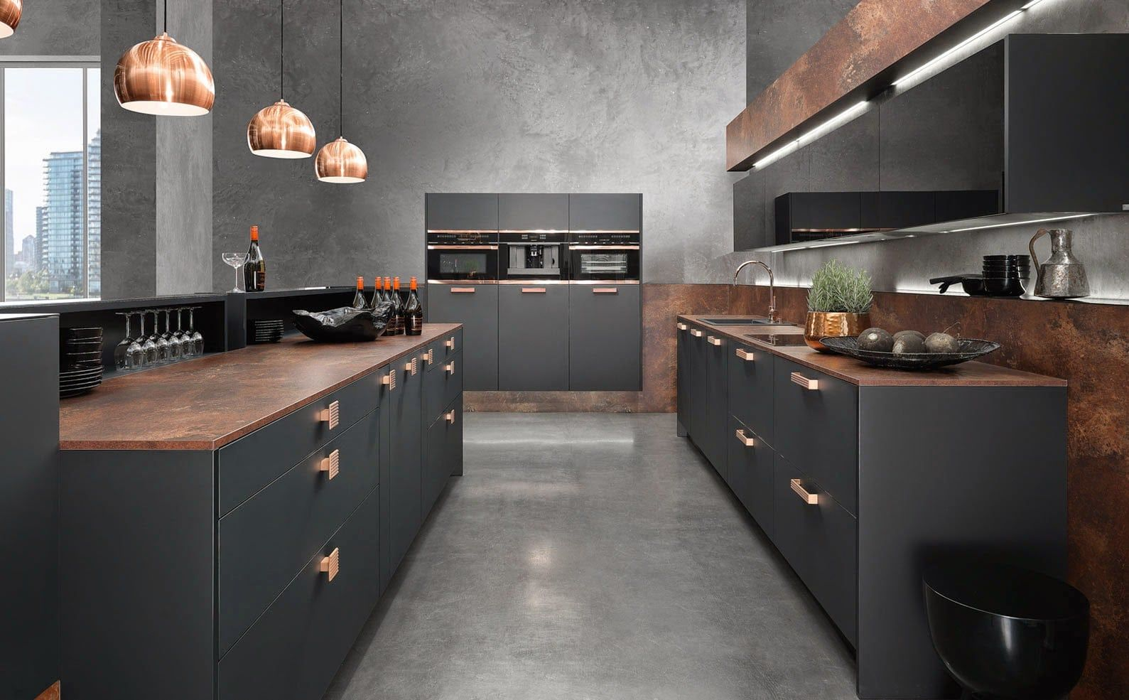 Monochromatic kitchens are the new kitchen trend. And