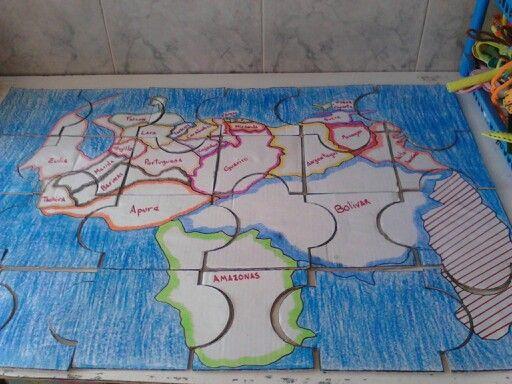 Rompecabeza Mapa De Venezuela