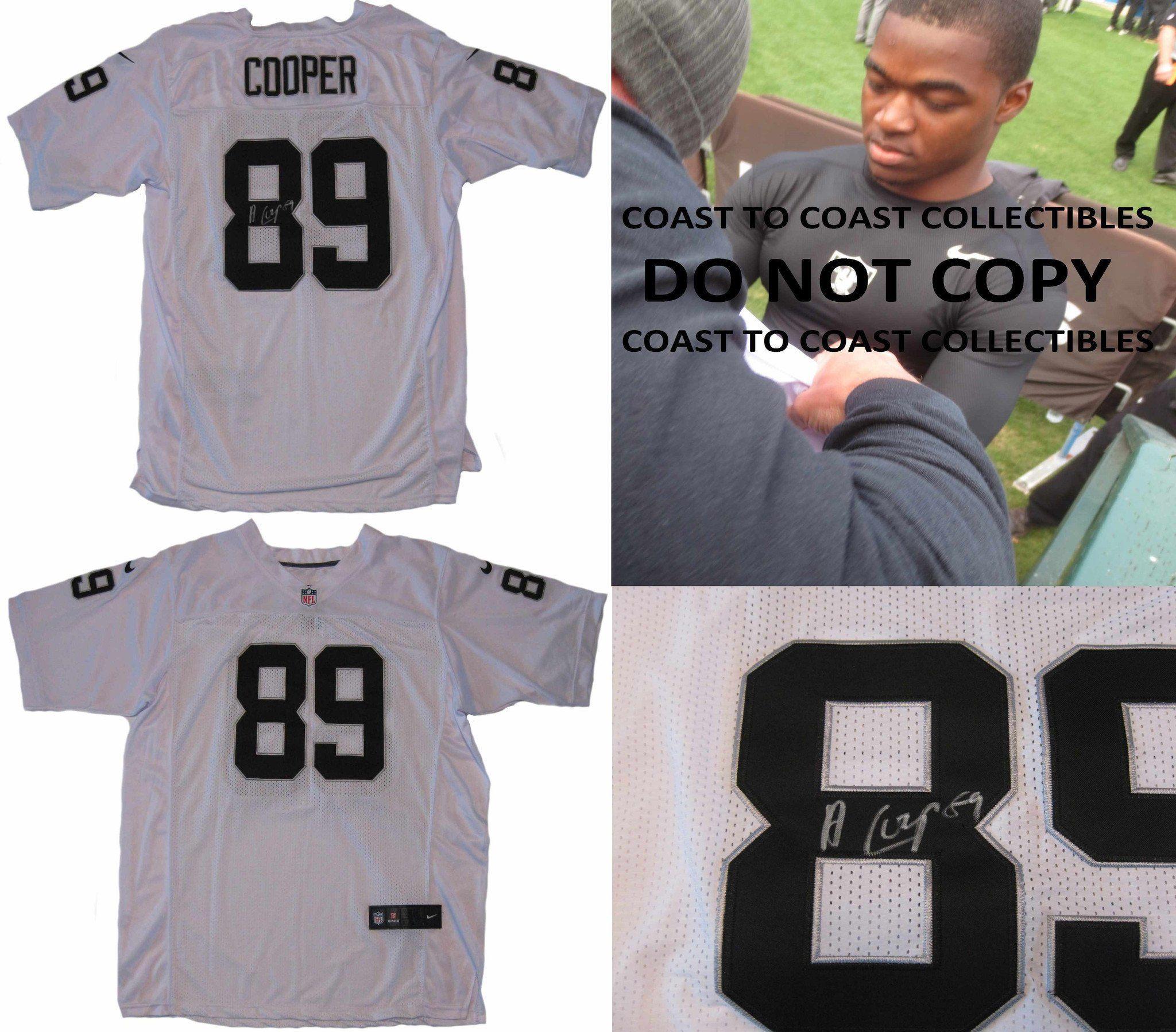 59347110a Amari Cooper Oakland Raiders signed