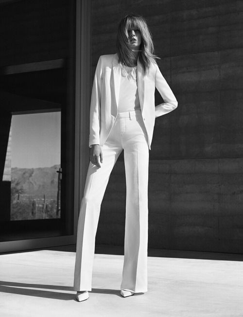 Office / All White Chic