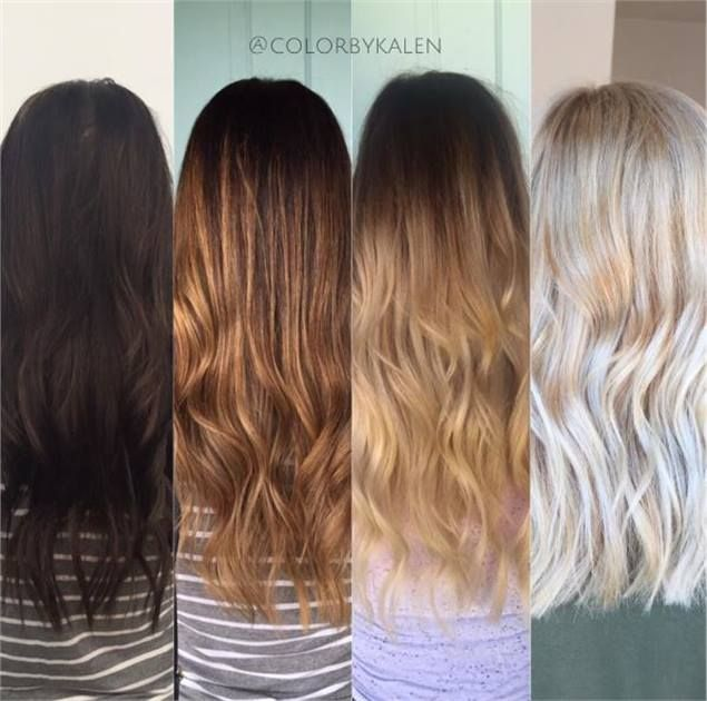 Level 2 Box Dyed Brunette To Beautiful Blonde Brunette To Blonde