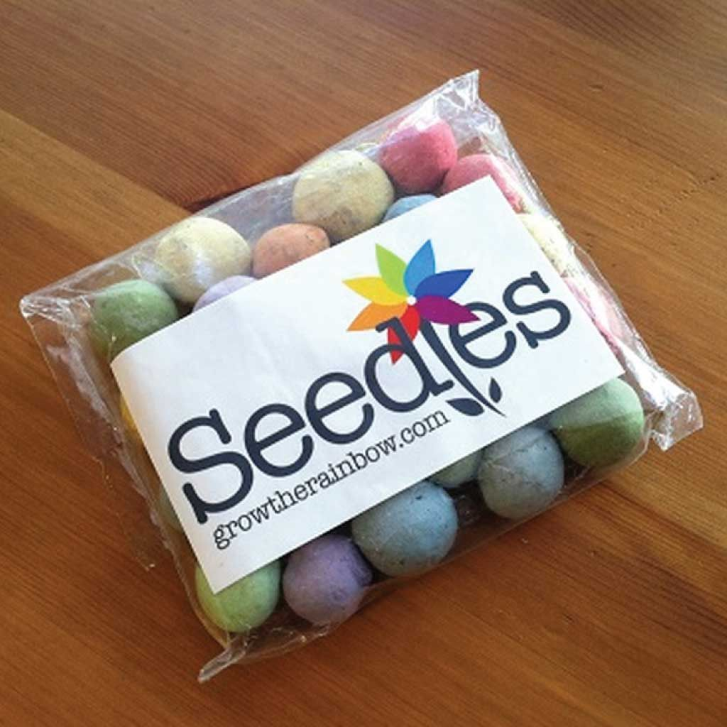seedles wildflower seed bombs gardening pinterest seed