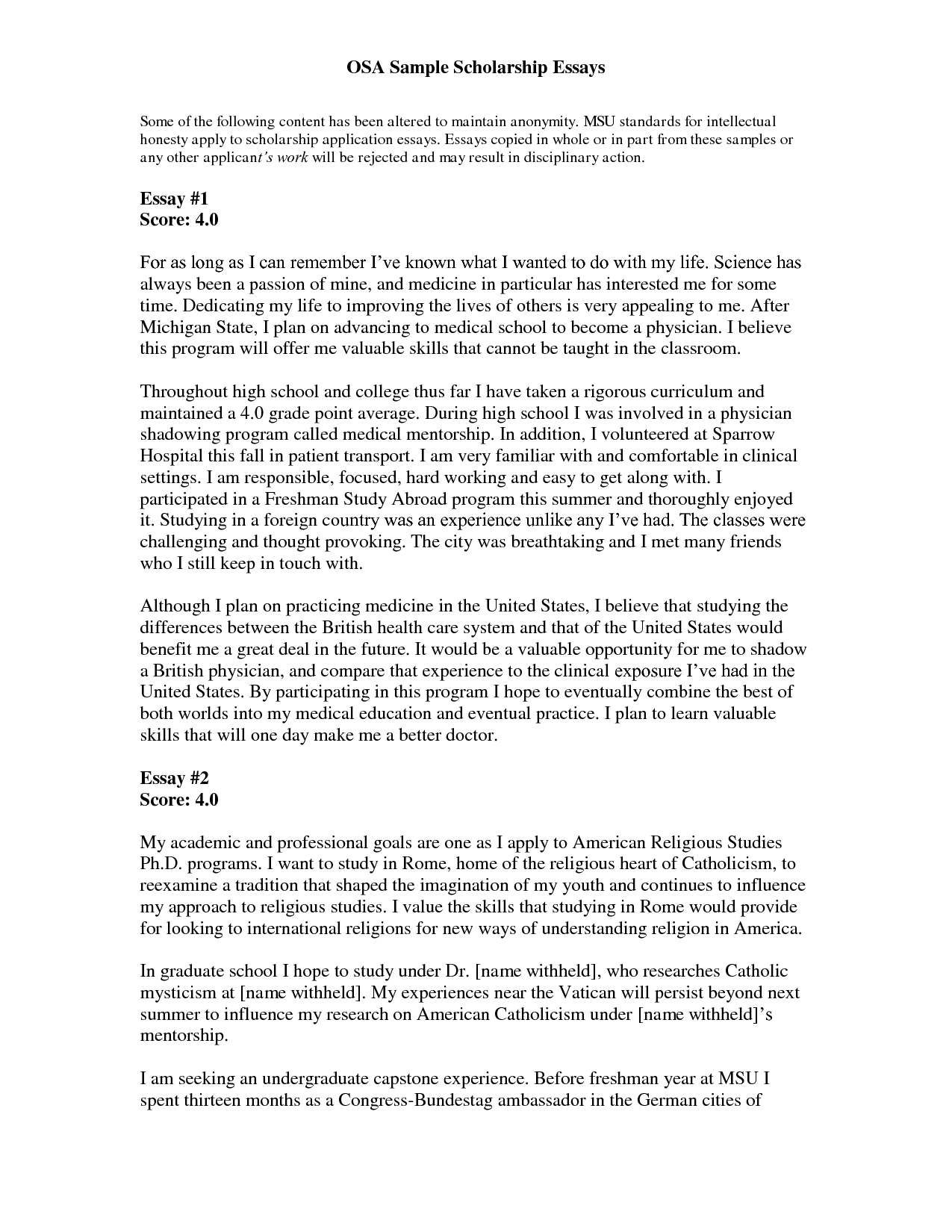 college application essay examples format The best way to improve your writing is to read good writing you are already doing that in your english class we have provided you with a list of notable memoirs by celebrated authors we've compiled various sample essays from people who have recently completed the college application process .
