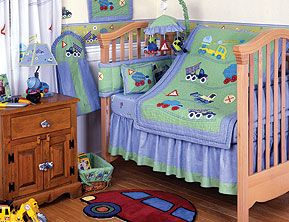 Kidsline Construction Zone Nursery Set