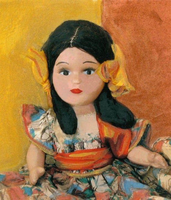 Spanish Doll Painted Fine Art Photo #spanishdolls