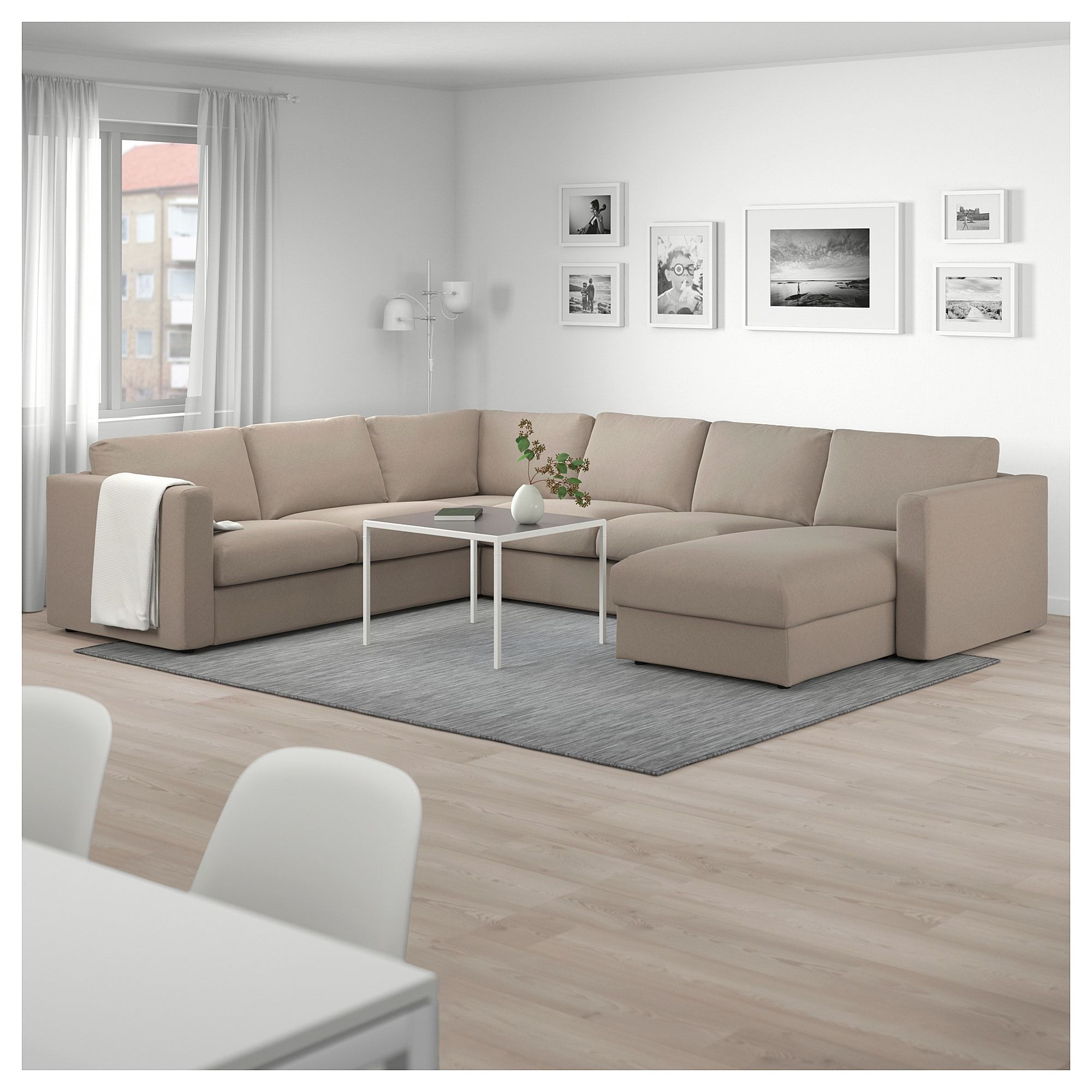 Vimle Sofa Ikea Dubai Vimle Sectional 5 Seat Corner With Chaise Tallmyra Beige In