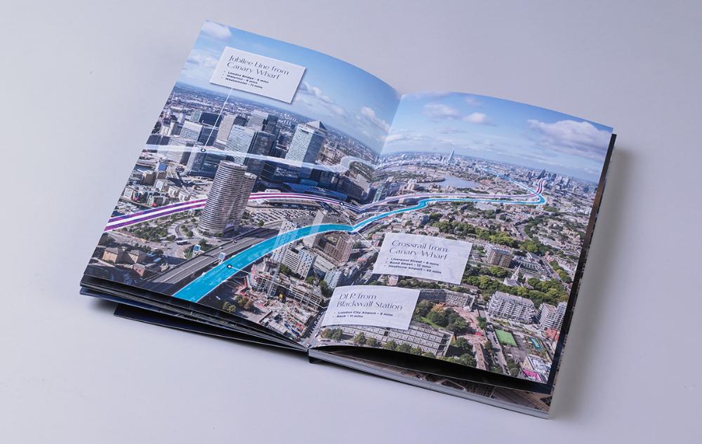Two Trafalgar Way Gqdesign In 2020 Brochure Design Brochure Trafalgar