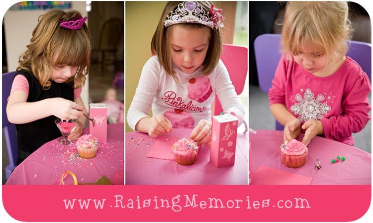 decorate your own cupcake