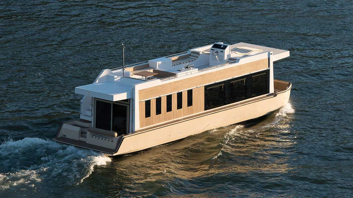 Do It Yourself Home Design: Luxury Houseboat Cruising Trimaran