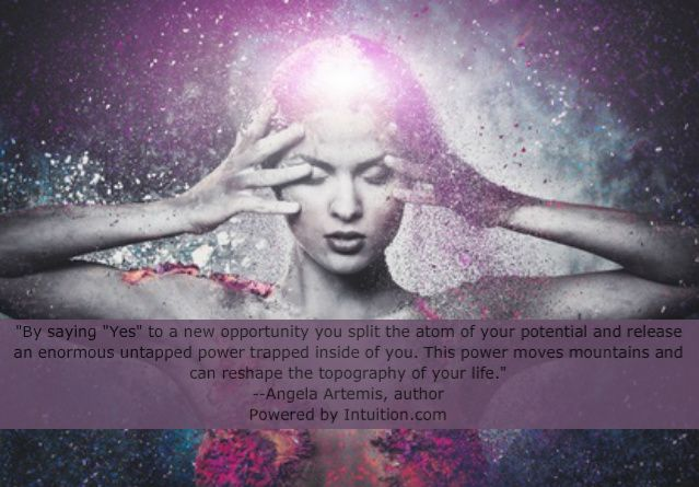 How To Split The Atom Of Your Potential Release Your Power Powered By Intuition Human Spirit Science Guided Meditation
