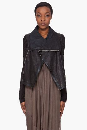 dream leather jacket, someday RICK OWENS