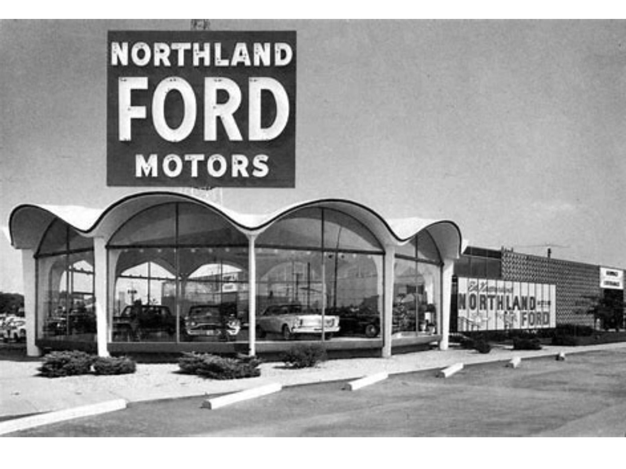 1960 S Northland Ford Dealership Duluth Minnesota Ford Motor