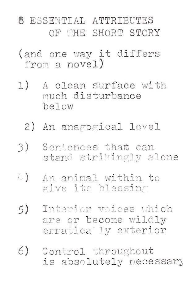 Joy Williams Explains How to Write a Short Story Joy williams - how to write a