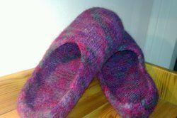 Filzen Eine Anleitung Für Filzschuhe Bis Fuß Knitting