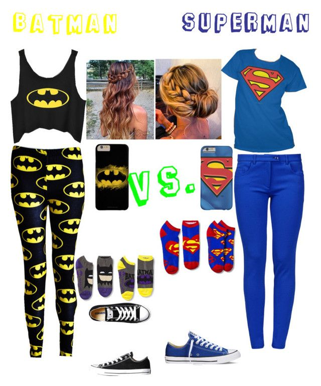 6fa02b29729991 batman vs.superman by beautyfrommyashes on Polyvore featuring polyvore  fashion style Boutique Moschino Converse women s clothing women s fashion  women ...