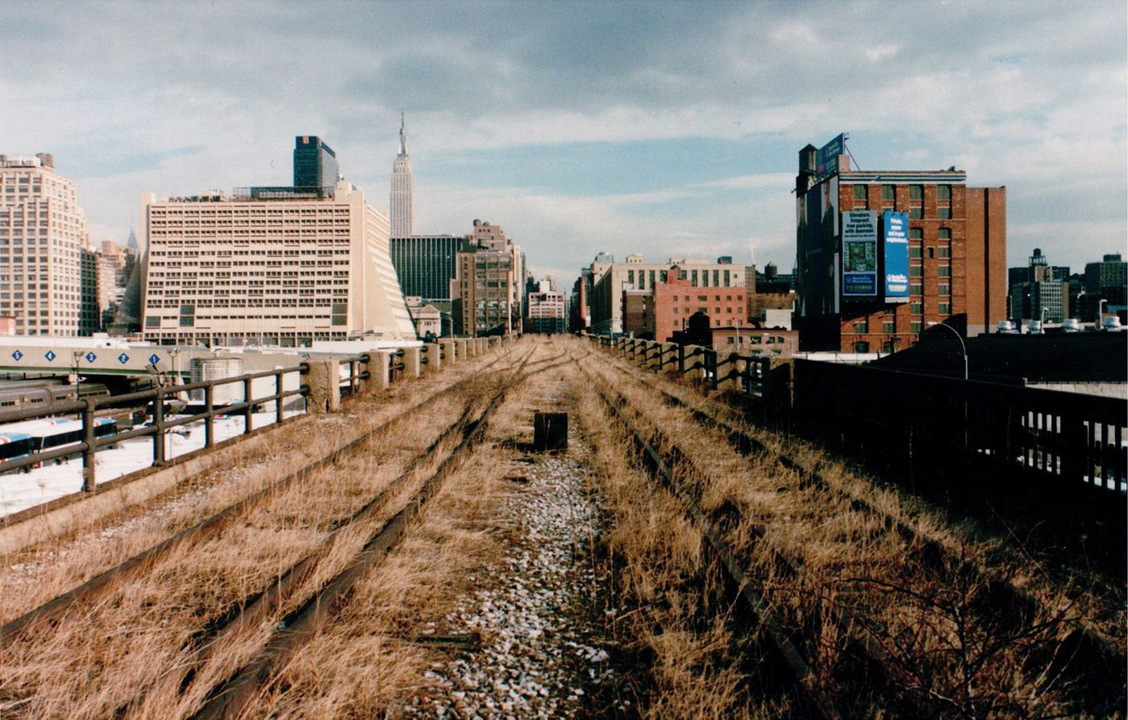 The High Line Before The High Line Build Blog High Line Old Train Station Landscape