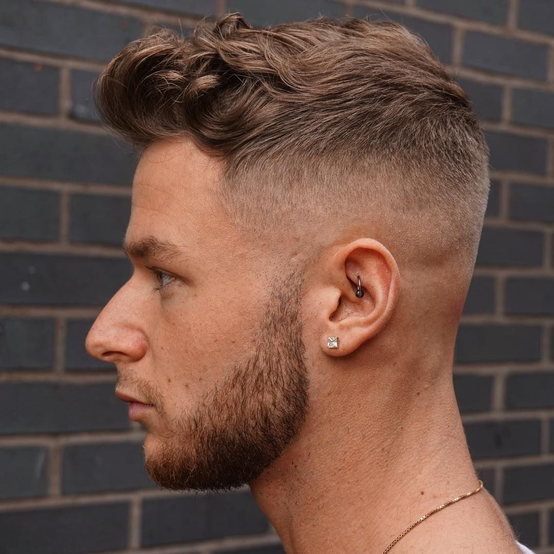 25 Cool Men S Back To School Hairstyles Ways To Look Young Mid Fade Haircut Curly Hair Fade High Fade Haircut