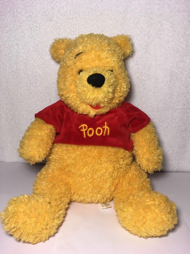 7ac7c1c876bc Disneyland Disney Winnie The Pooh Bear Plush 14
