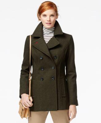 stabil kvalitet 2018 sneakers försäljning av skor Black Size S. Tommy Hilfiger Classic Peacoat   Coats for women ...
