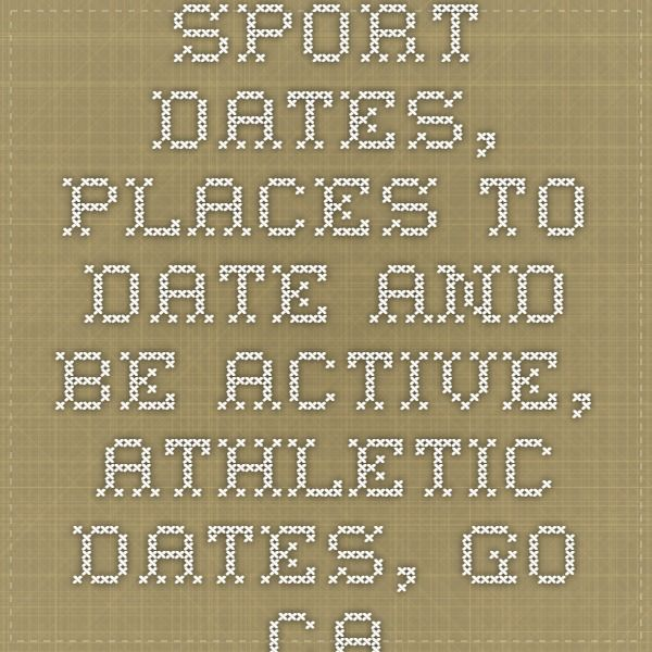 Sport dates, places to date and be active, athletic dates, go carting, horseback riding, boats, golf