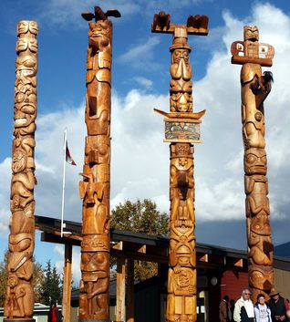 Cathedral Grove | Totem Pole Websites