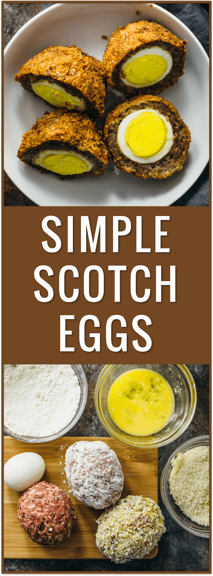 Scotch eggs with curry mustard sauce - Savory Tooth