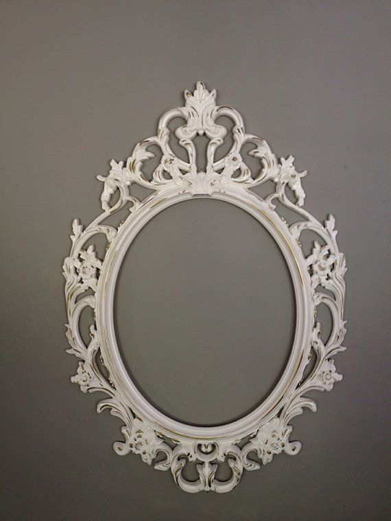 Baroque Frame Wedding Photo Prop Shabby Chic Frames Nursery Wall ...