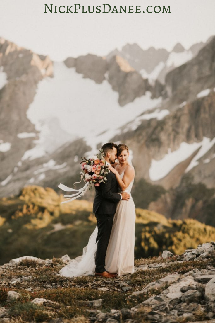 Adventurous Seattle Elopement Photographer North