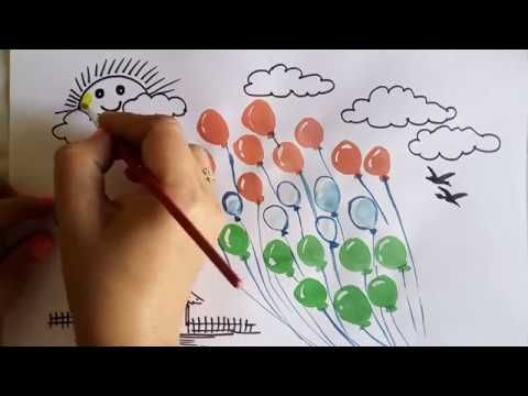 Republic Day Special Balloons Drawing Video Fun Learning For Kids