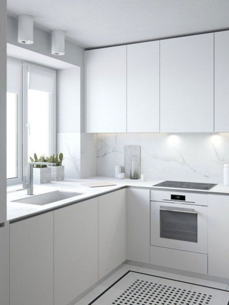 These stylish kitchens, including everything from white kitchen cabinets to smoo... -  Farben Blog -
