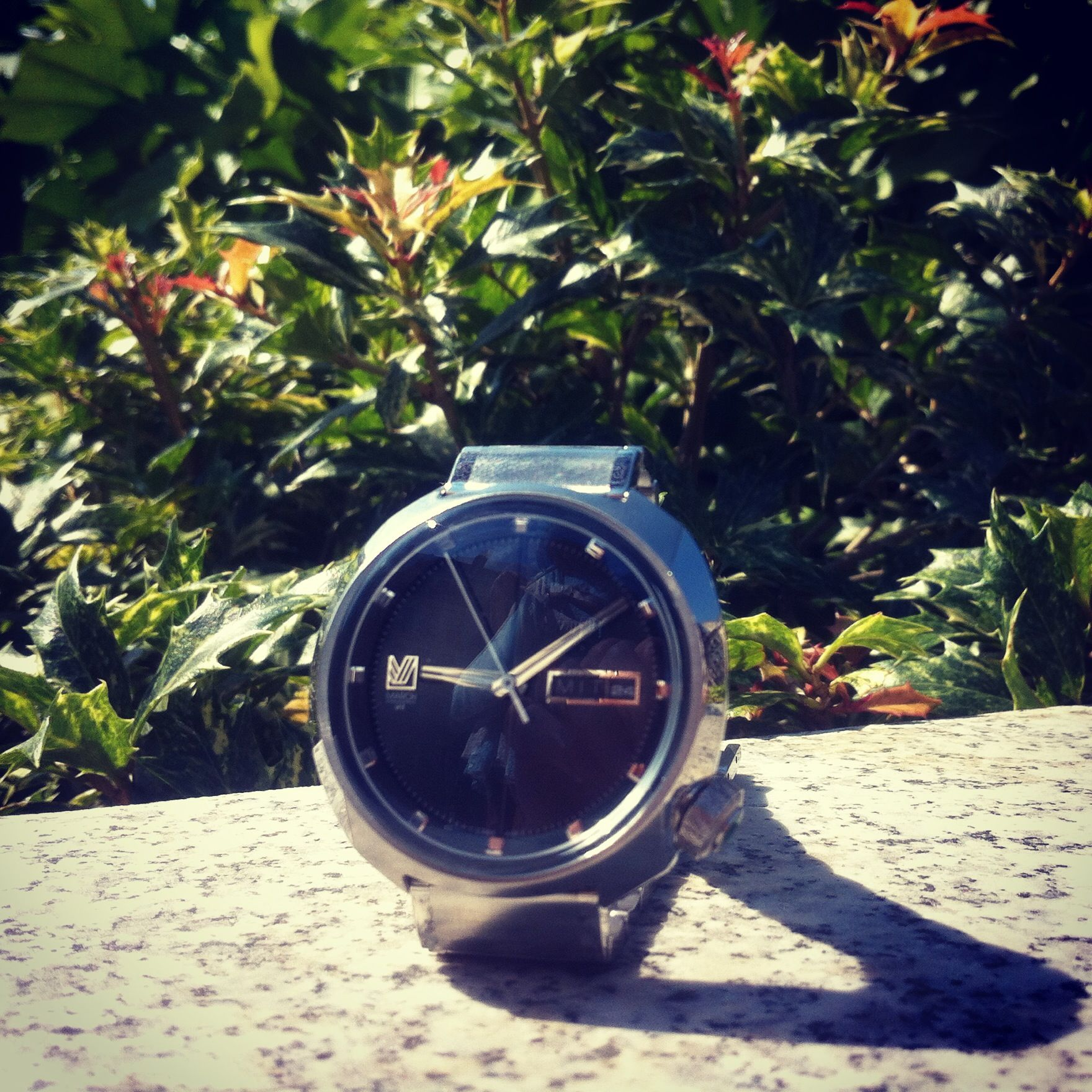 marchlab montre watches timefy acier vert dandy